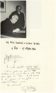 27 Ottobre 1966 - 'Les Petits Chanteurs à la Croix de Bois' in visita a Rho