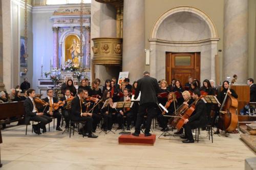 Novembre 2017 - Messa-Concerto in onore di Santa Cecilia