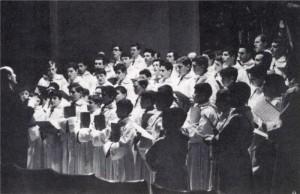 I Pueri Cantores animano la Liturgia