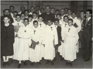 Lourdes 1958 - VII Congresso Internazionale Pueri